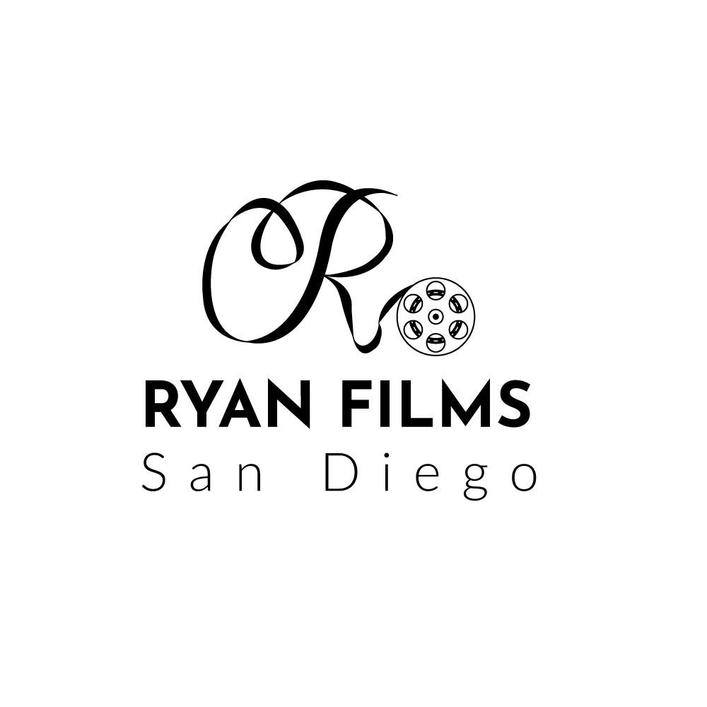 Professional Masculine Wedding Photography Logo Design For Ryan Films San Diego By Natasa M Design 17145375