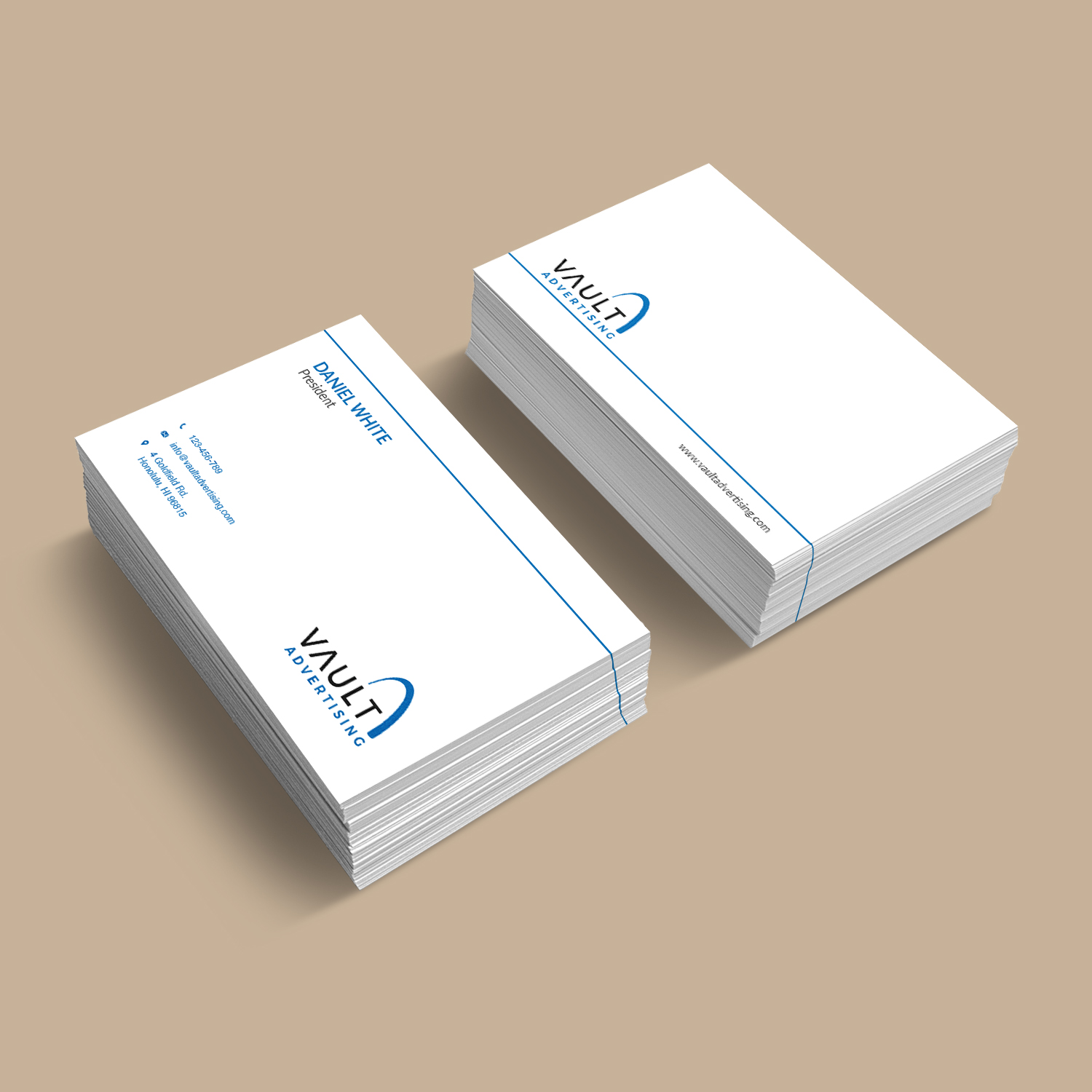 Elegant playful business business card design for a company by business card design by bdesigner9 for this project design 16912383 reheart Image collections