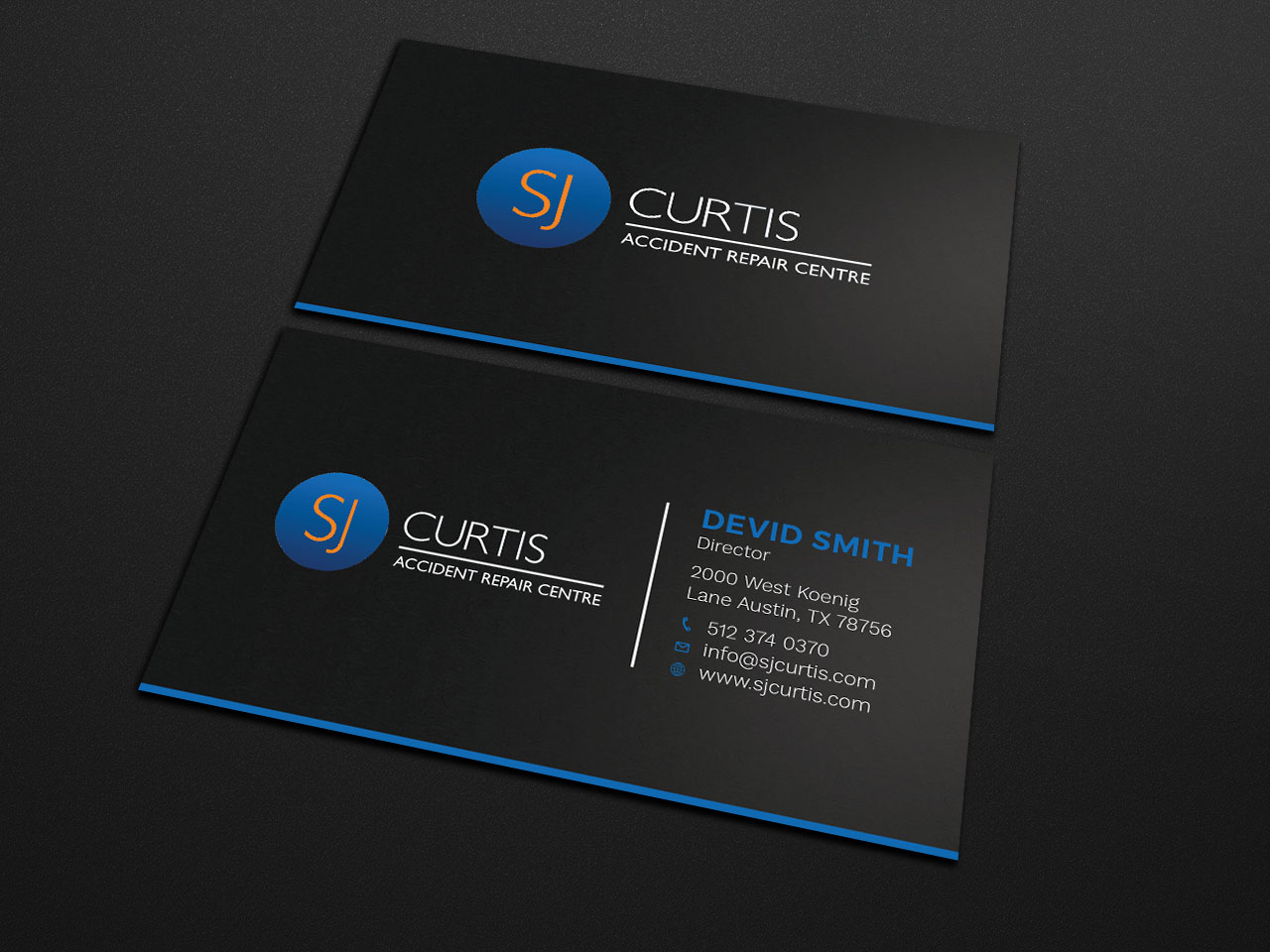 Upmarket, Serious Business Card Design for Richard Curtis by ...