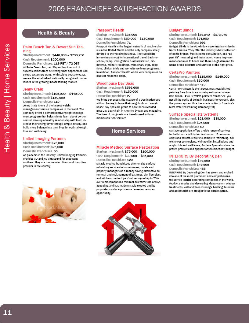 Brochure Design for Franchise Business Review by ReckonCreations