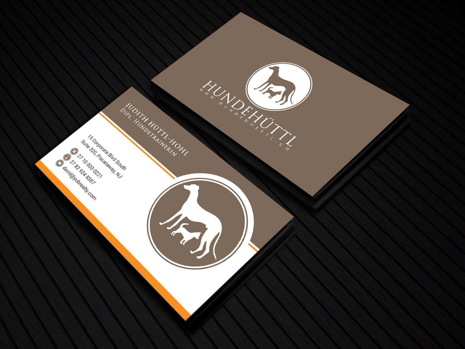 Elegant modern business card design for a company by sandaruwan business card design by sandaruwan for this project design 16912656 reheart Image collections