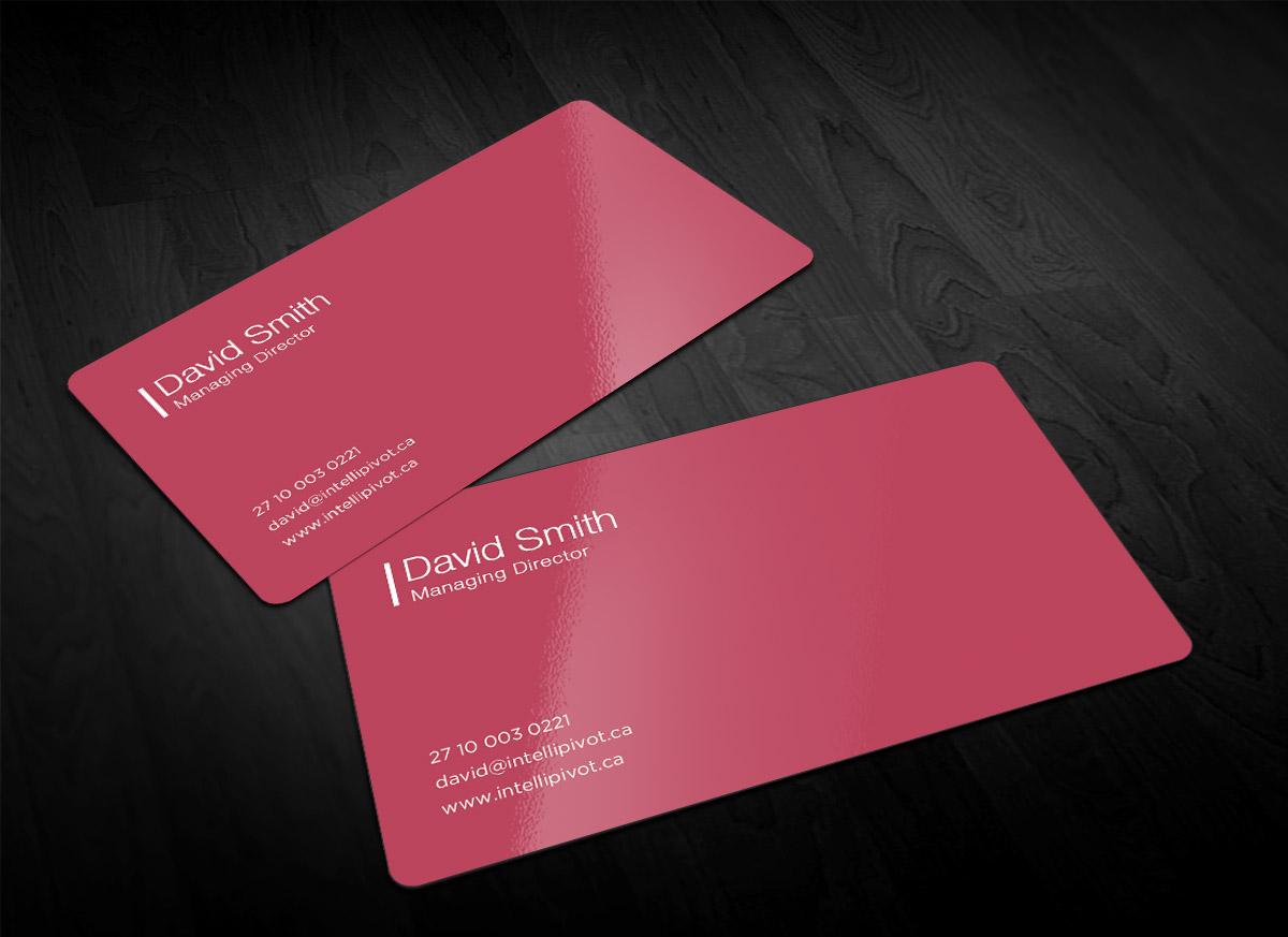 business business card design for best easy work by sandaruwan