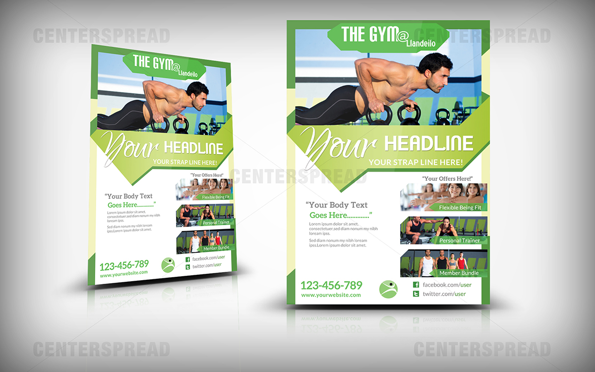 Poster design health - Poster Design By Centerspread For Poster Design For New Contemporary Health And Fitness Boutique