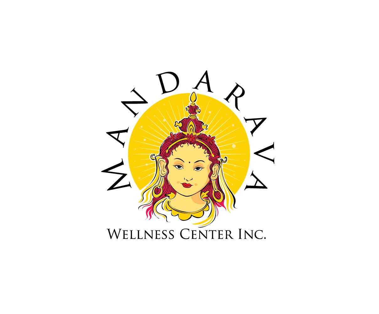 Mandarava Wellness Center Logo by blue eye