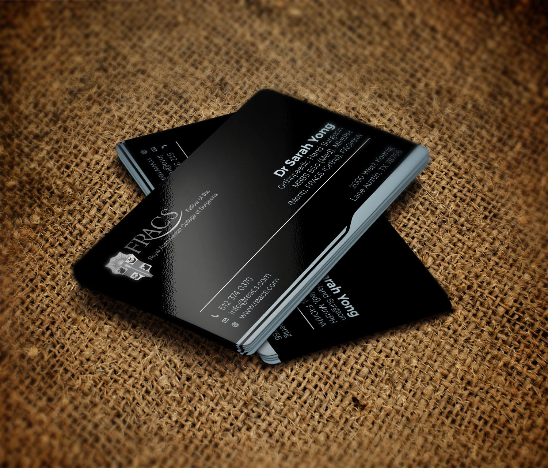 Serious, Elegant Business Card Design by Avanger_000 | Design #16907306