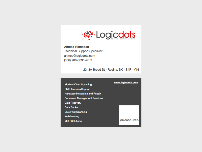 Printing business card design for logicdots solutions by business card design by worldexplorer for logicdots solutions design 2754308 reheart Image collections