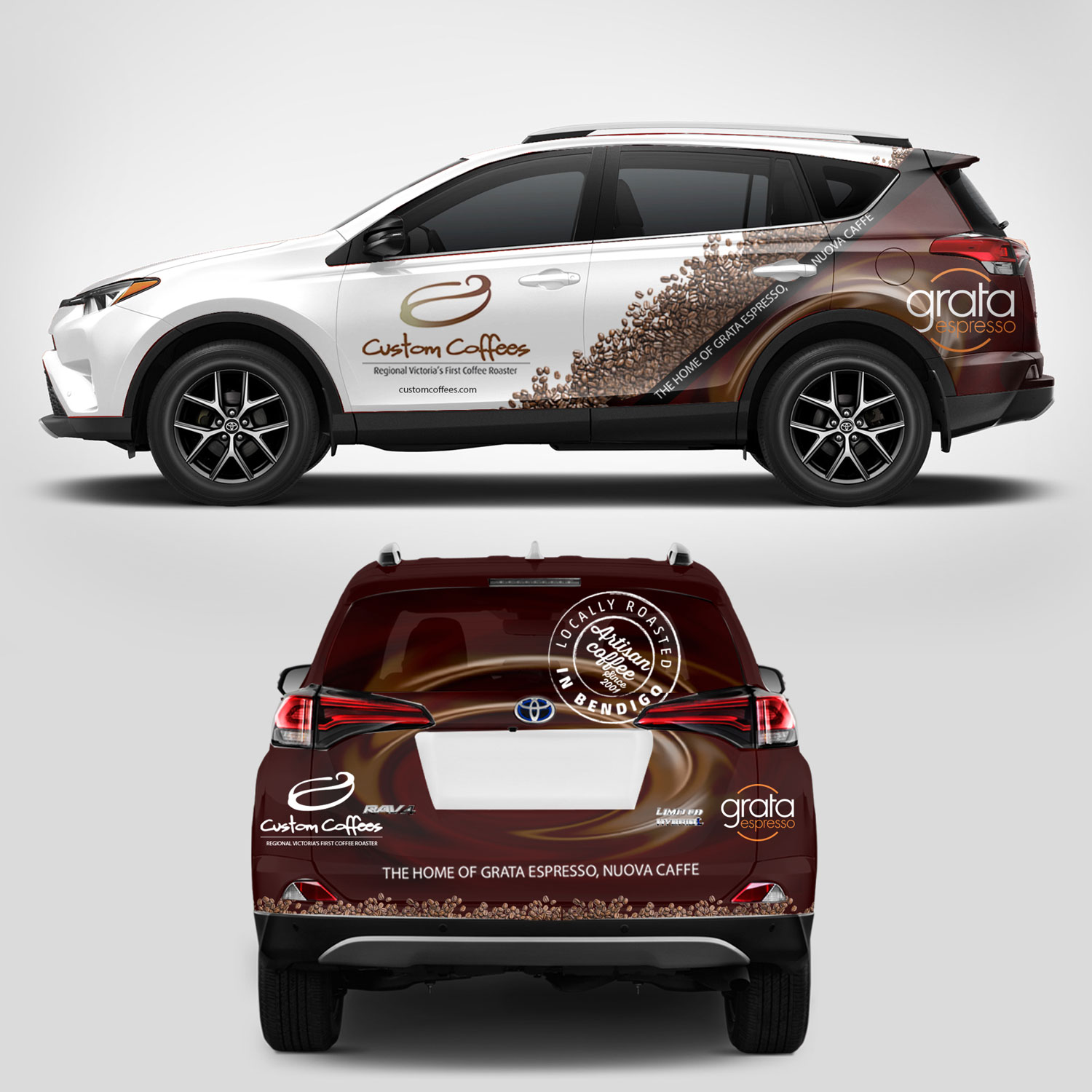 Elegant Serious Car Wrap Design For A Company By Hdcreation