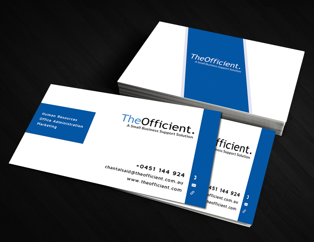 Elegant, Modern, Small Business Business Card Design for a Company ...