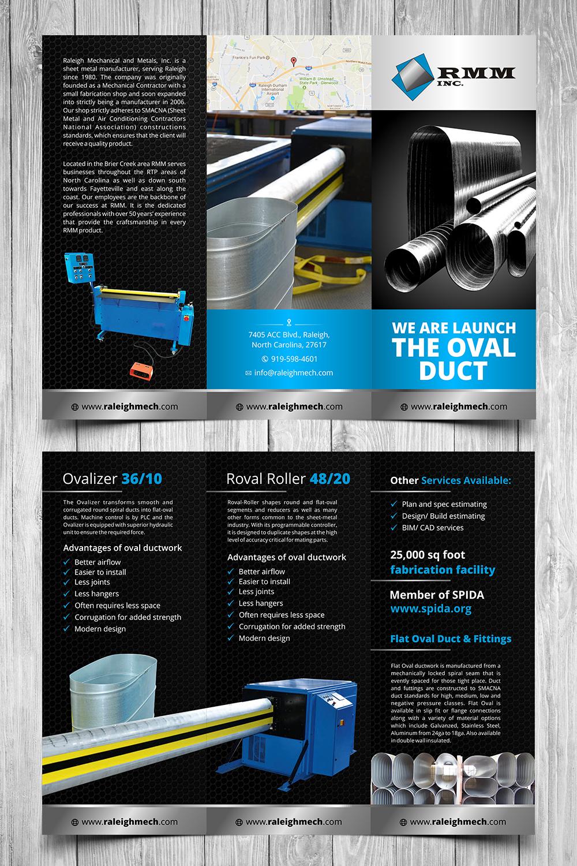 Elegant, Playful, It Company Brochure Design for RMM Inc  by
