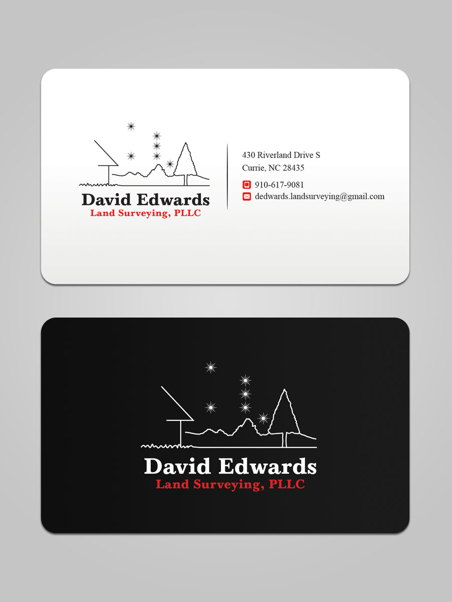 Professional serious business business card design for a company business card design by sandaruwan for this project design 16944139 reheart Image collections