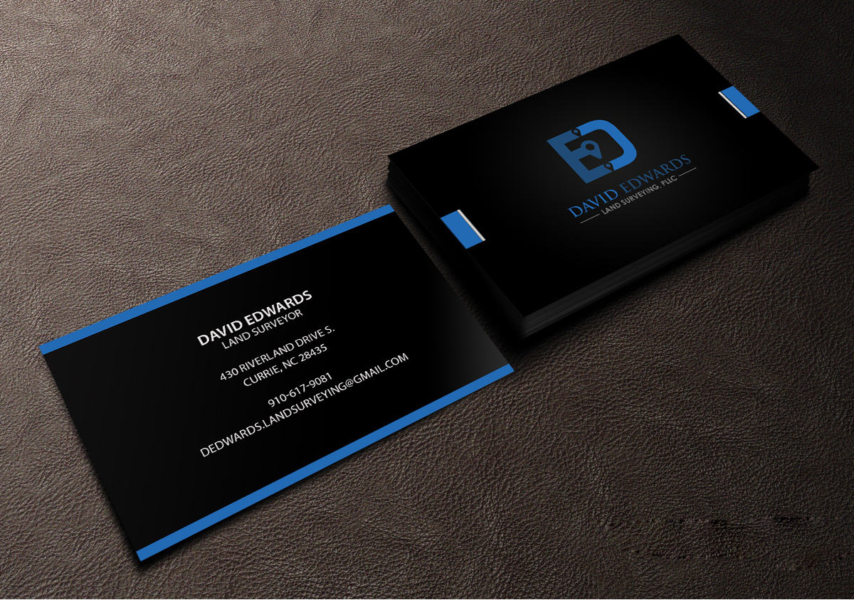 Professional serious business business card design for a company business card design by creations box 2015 for this project design 16946313 reheart Image collections