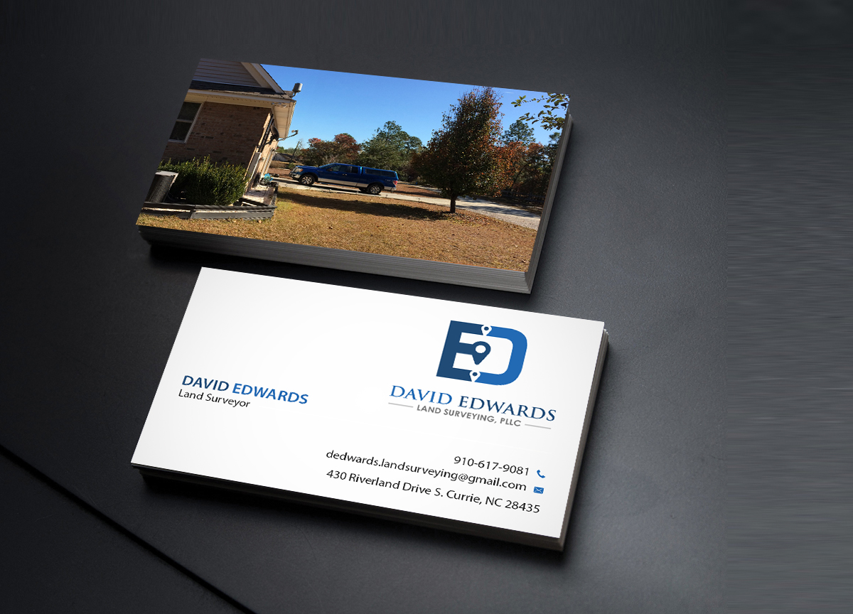 Professional serious business business card design for a company business card design by creations box 2015 for this project design 16946316 reheart Image collections
