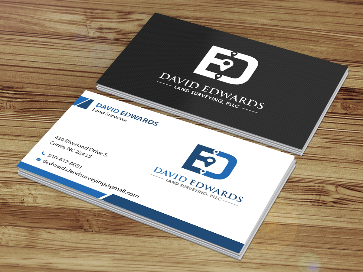 Professional serious business business card design for a company business card design by creations box 2015 for this project design 16946317 reheart Image collections
