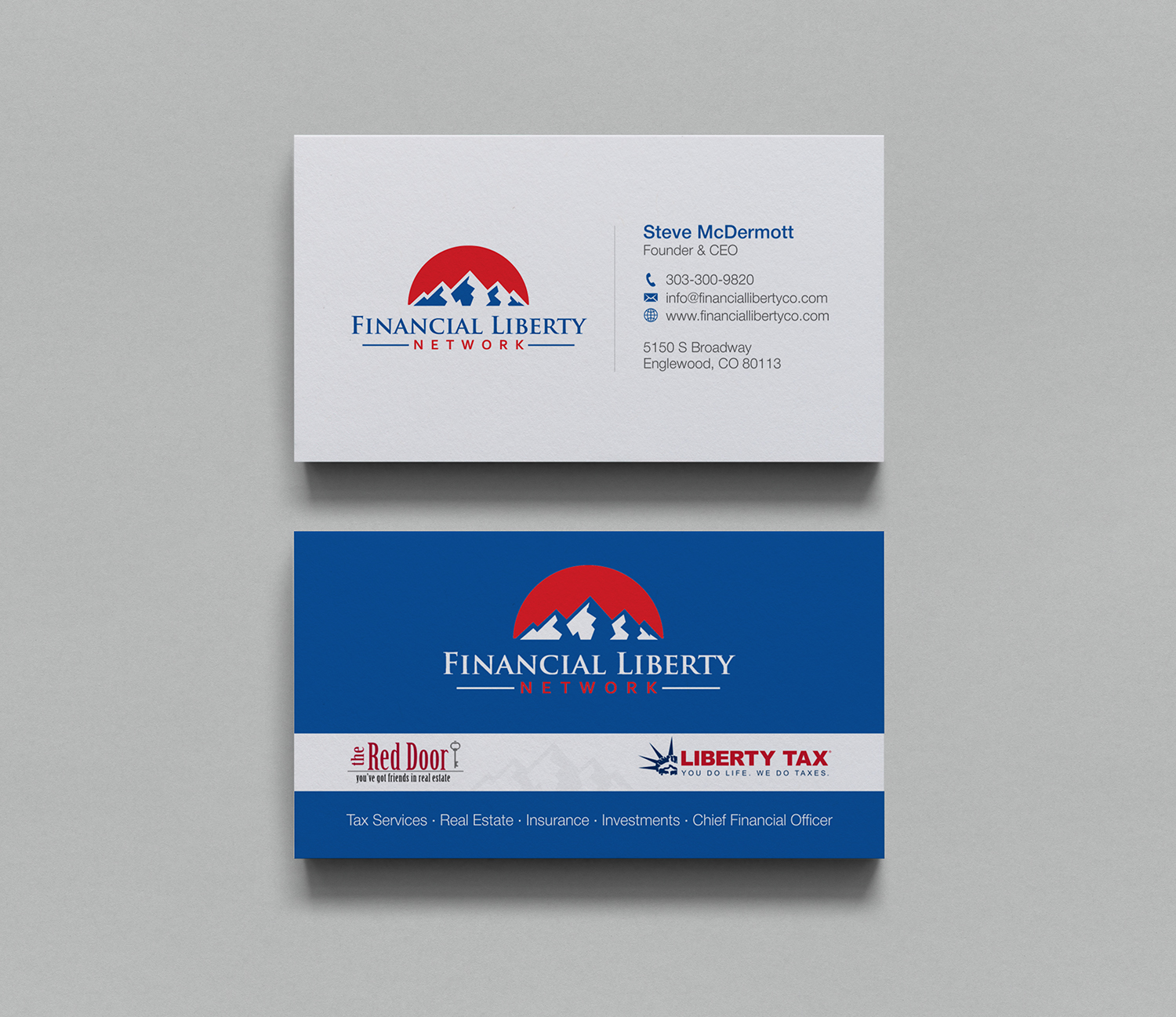 Financial business card design for a company by logodentity design business card design by logodentity for this project design 16939034 colourmoves