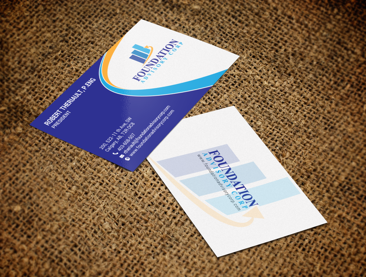 Serious professional consulting business card design for business card design by chandrayaaneative for copperwood ventures inc design 17232305 reheart Choice Image
