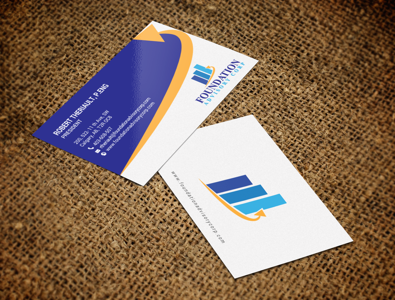 Serious professional consulting business card design for business card design by chandrayaaneative for copperwood ventures inc design 17232306 reheart Choice Image