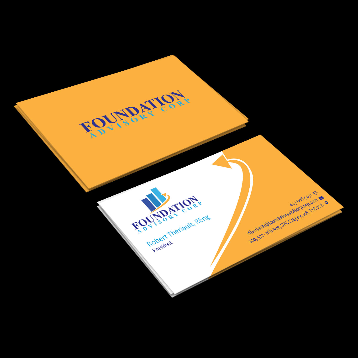 Serious professional consulting business card design for business card design by creative jiniya for copperwood ventures inc design 17230768 reheart Choice Image
