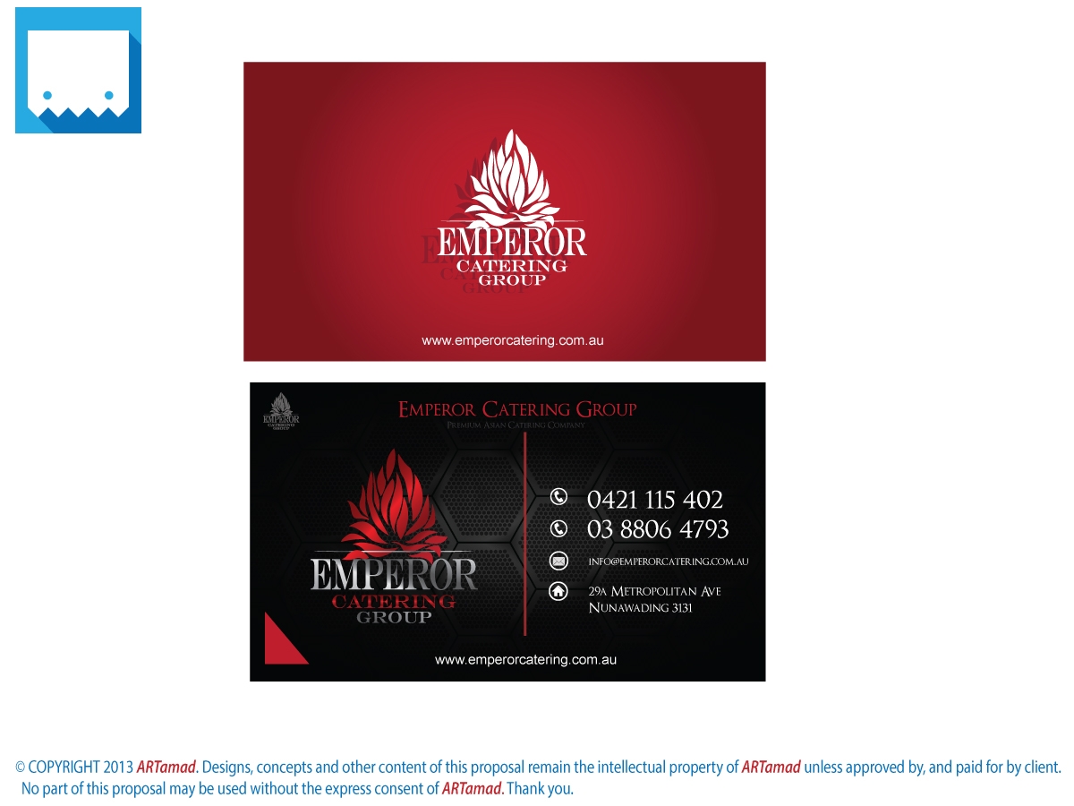 Business Business Card Design for a Company by ARTamad - TMDesigns ...