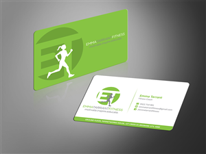 Personal Training Business Card Design