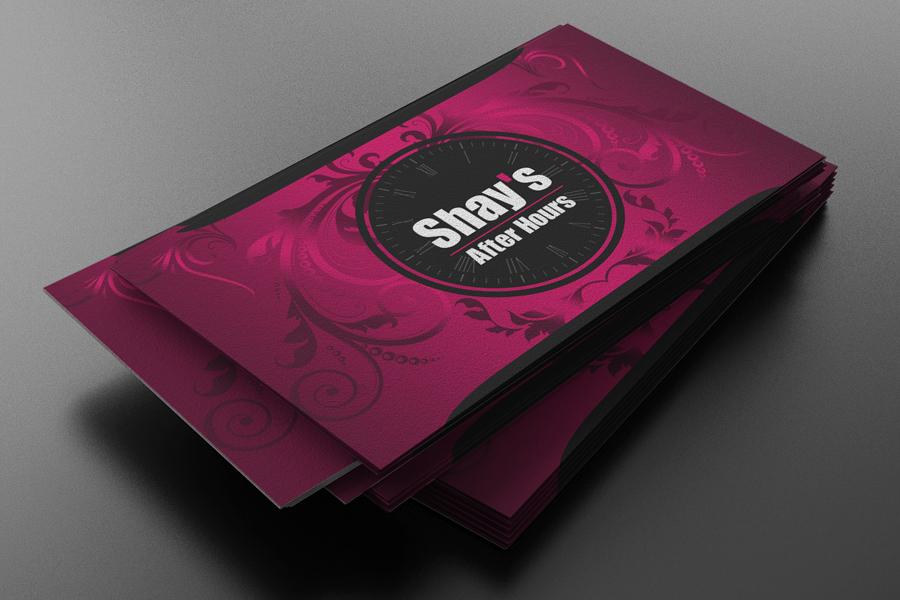 Feminine, Upmarket, Escort Business Card Design for a Company by ...