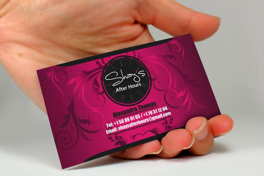 Design De Carte Visite Fminin Haut Gamme Escort Pour A Company En Aux Australia