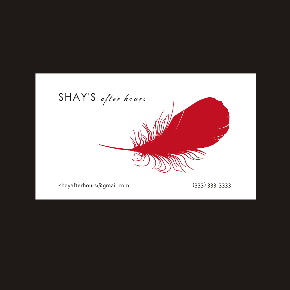 53 Feminine Business Card Designs | Escort Business Card Design ...