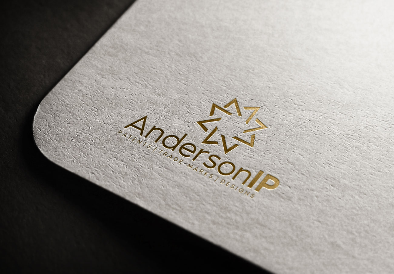 Serious, Professional, Business Logo Design for AndersonIP / Patents ...
