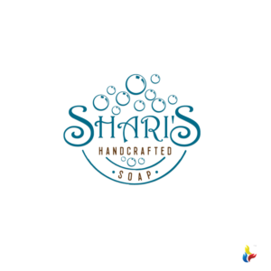 playful, professional logo design job. logo brief for shari's