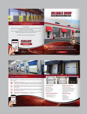 Flyer Design job - Reliable Door u0026&;&; Dock Inc. Introduction Flyer  sc 1 st  DesignCrowd Jobs & Elegant Playful Flyer design job. Flyer brief for Reliable Door ...