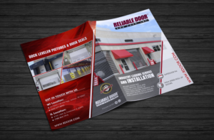 Flyer Design by ecorokerz for Reliable Door u0026 Dock | Design #16968514 & 28 Elegant Flyer Designs | Sales Flyer Design Project for Reliable ...