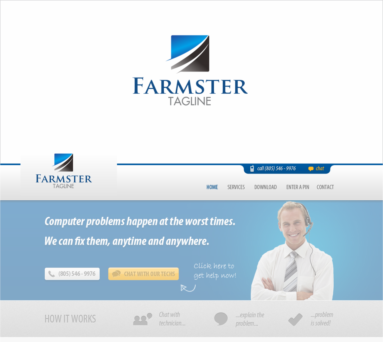 Playful, Modern, Business Logo Design for Farmster by Toto luap ...