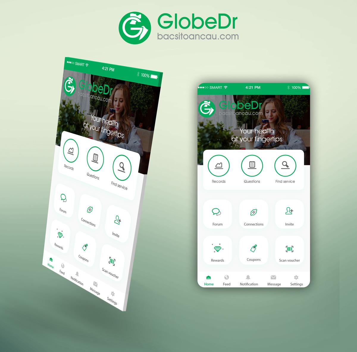 Bold, Modern App Design for Khanh Phi by mobileAppSL | Design ...