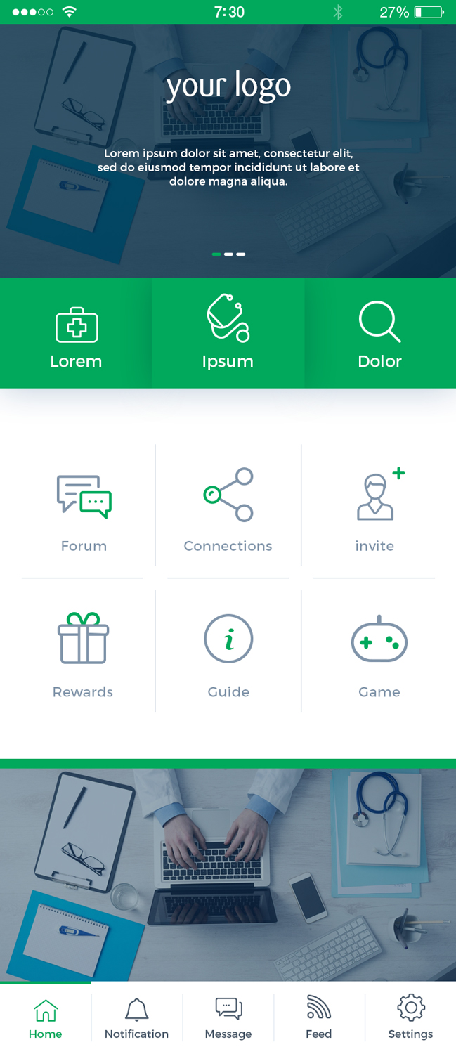 19 Bold App Designs   Health App Design Project for a Business in ...