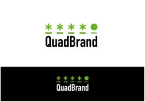 Logo Design job - QuadBrand : 4-Letter .com Brandable Domain Names - Winning