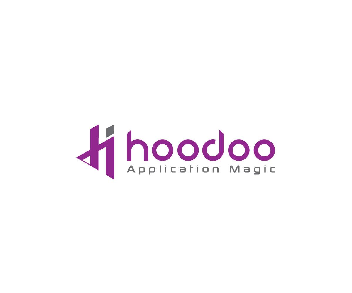 Bold, Modern, Mobile Media Application Logo Design for Hoodoo