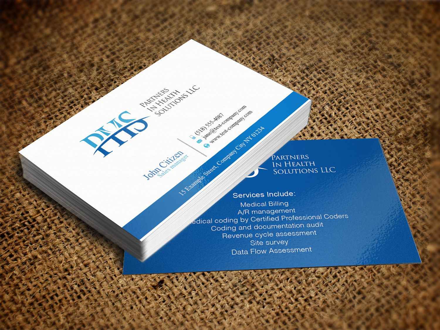 Stunning Medical Billing Business Cards Gallery - Business Card ...