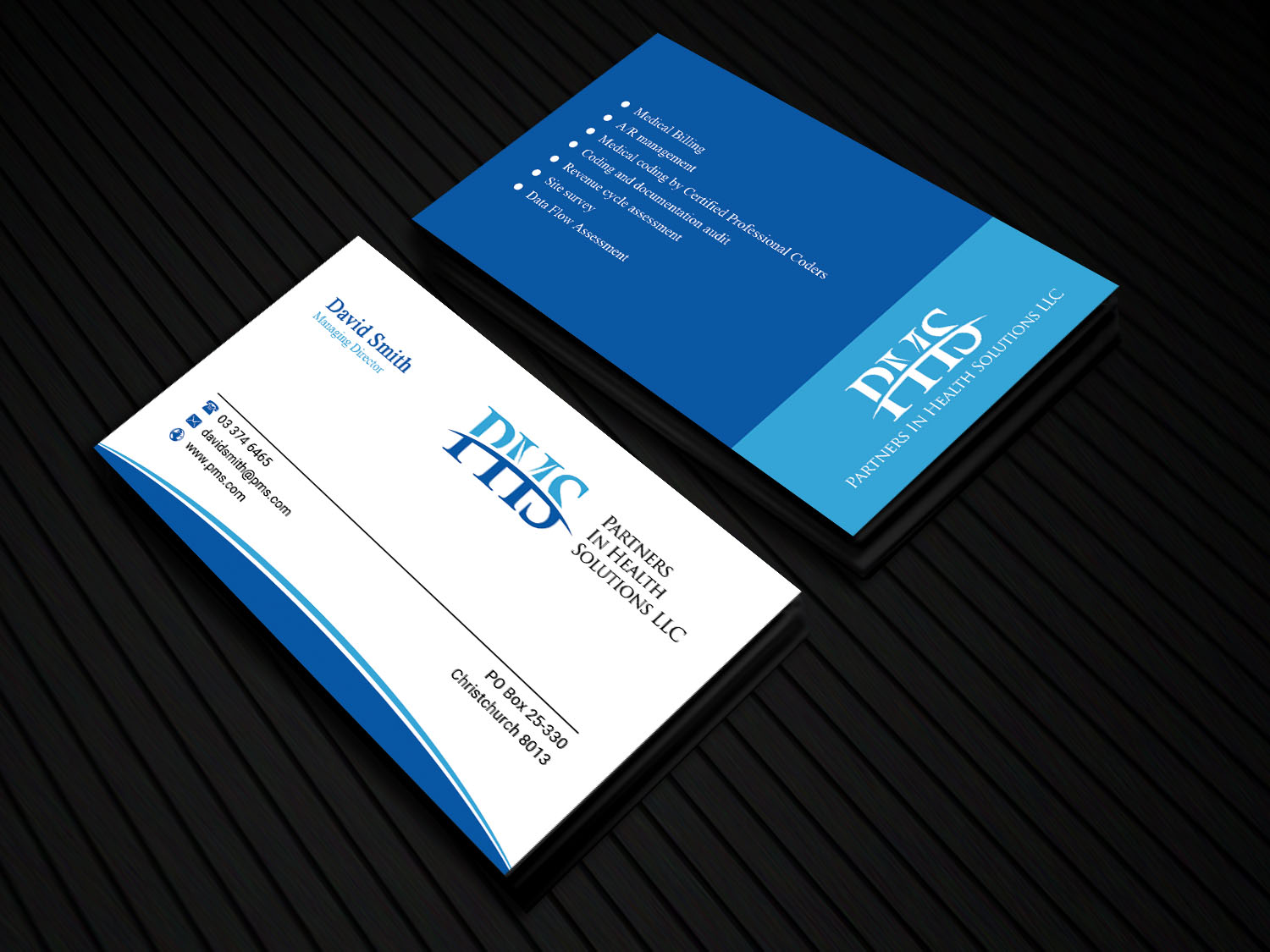 Serious, Professional, Medical Business Card Design for Partners In ...
