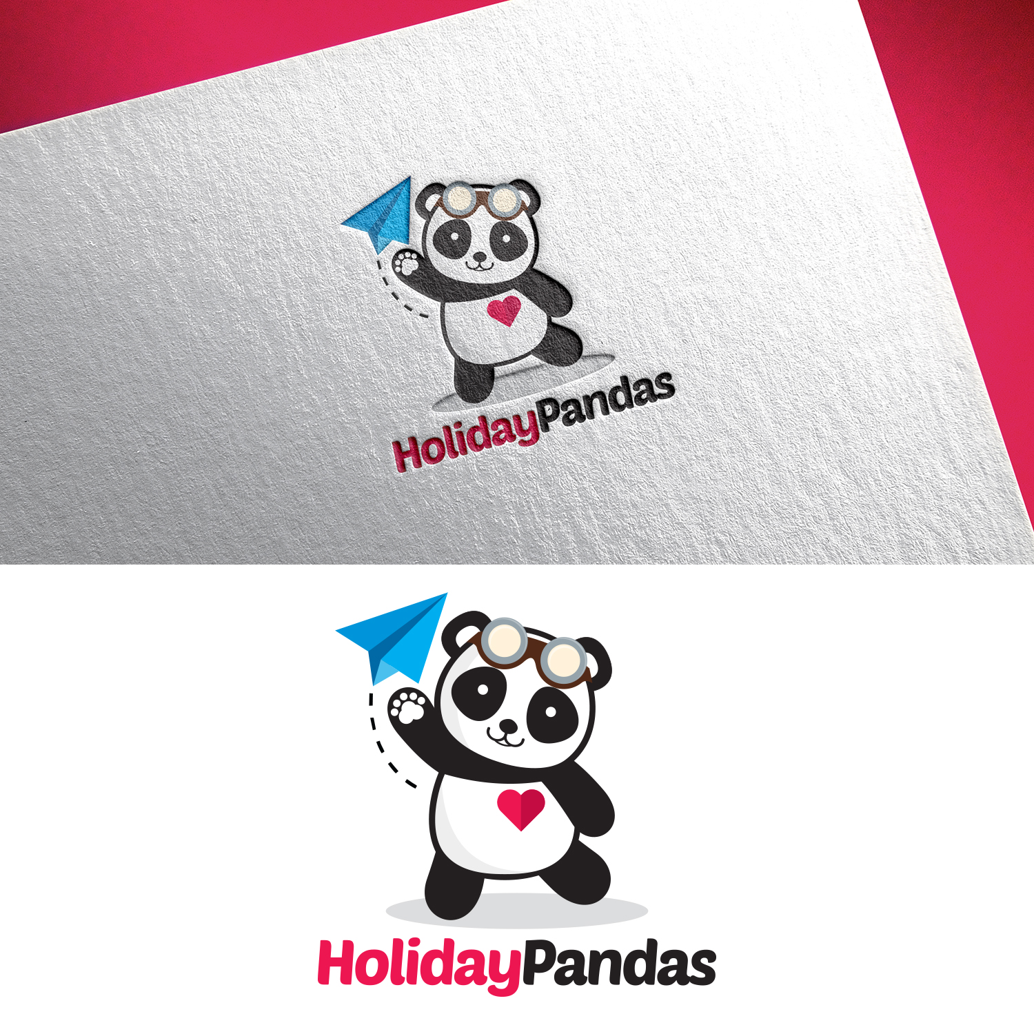 Logo Design for a Travel Holiday Company by Ana White
