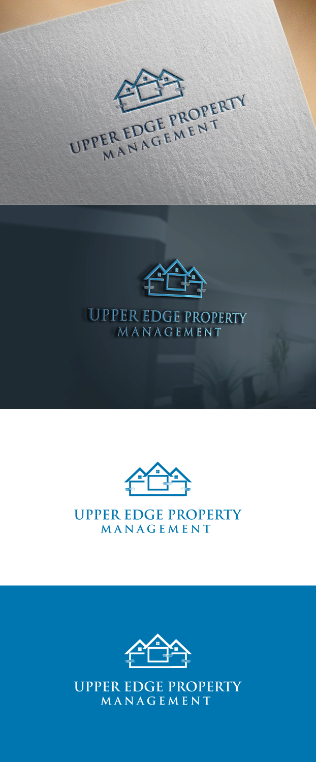 Logo Design By Fathia One For Upper Edge Property Management Inc 17149248