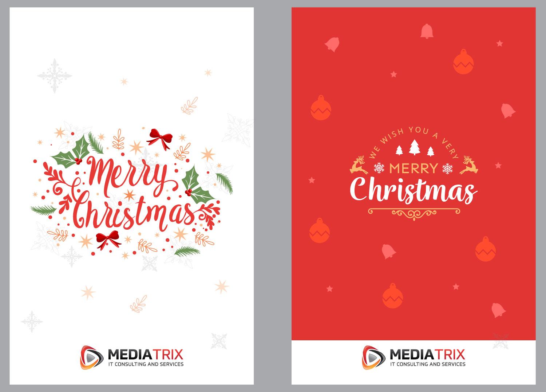 Serious elegant it company greeting card design for mediatrix by greeting card design by annie creative service for mediatrix design 17017732 m4hsunfo