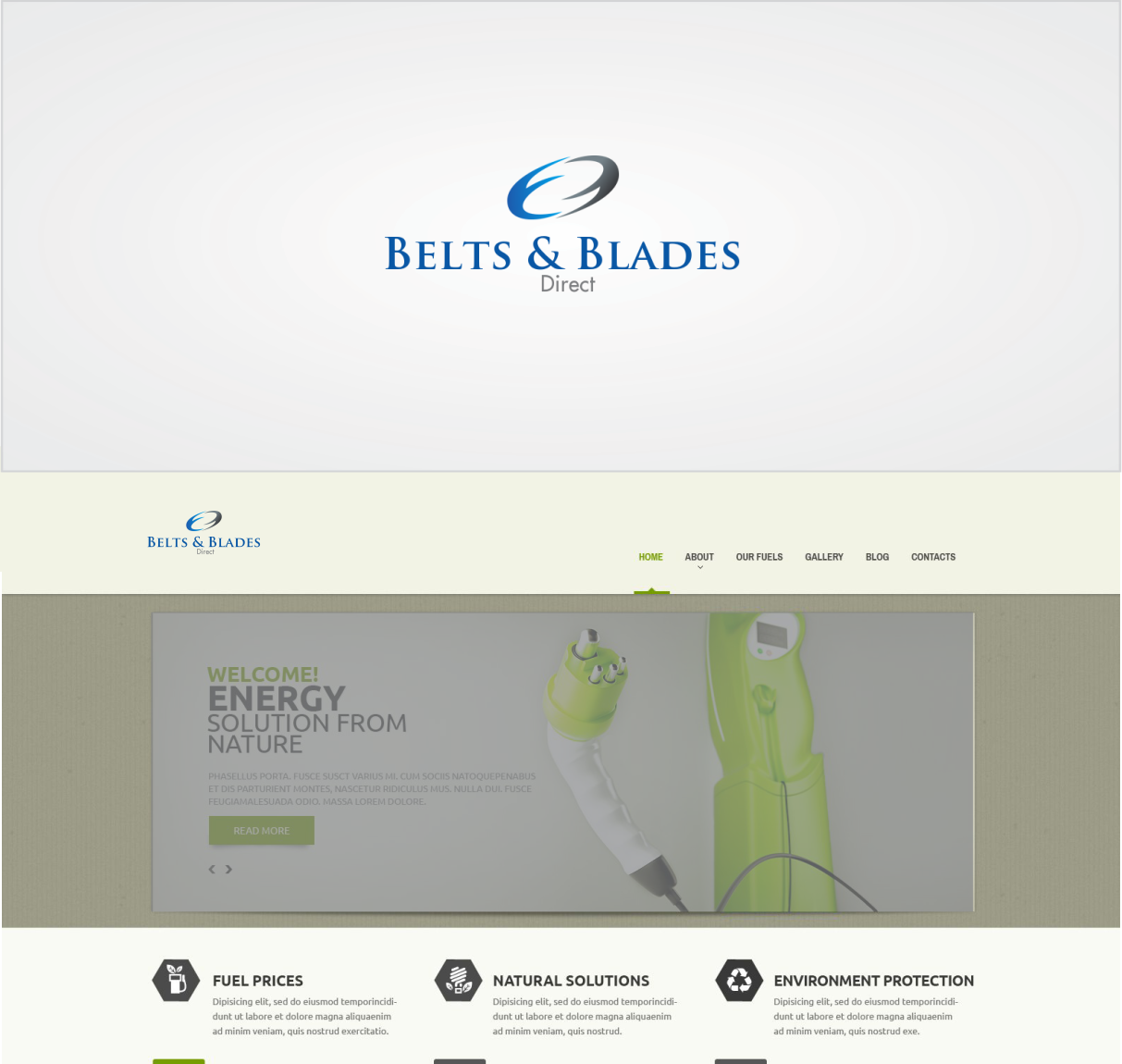Business Logo Design for Belts & Blades Direct by Toto luap ...