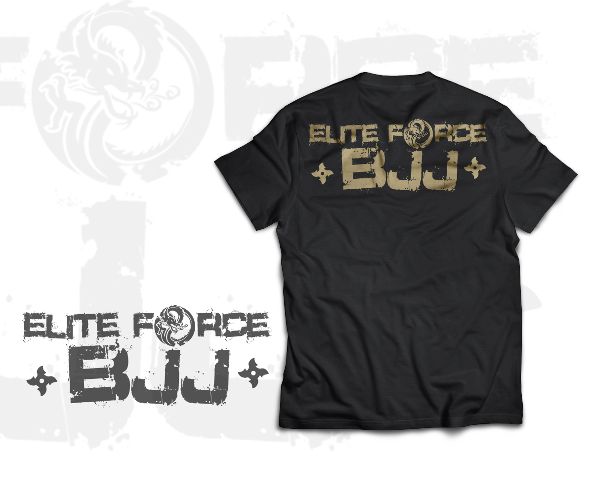 Elegant Modern T Shirt Design By Elias Ruiz Design
