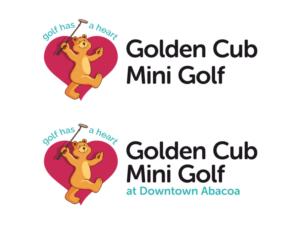 Golden Cub Mini Golf By Nicklaus Design 70 Logo Designs For Golden Cub Mini Golf By Nicklaus Design