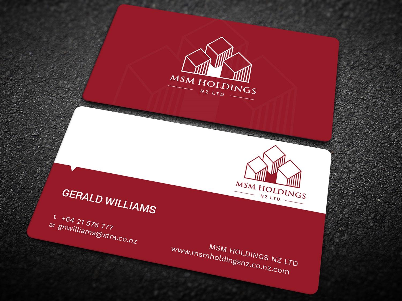 Upmarket, Serious, Investment Business Card Design for Roar Honey NZ ...