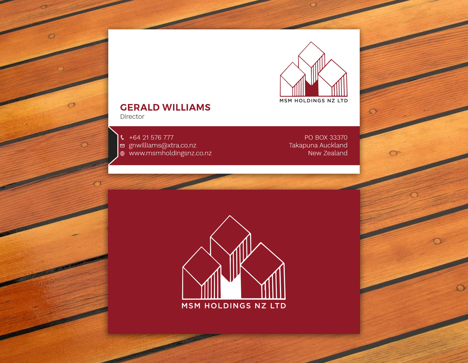 Wooden business cards nz image collections card design and card upmarket serious business card design for roar honey nz limited by business card design by avanger000 reheart Image collections