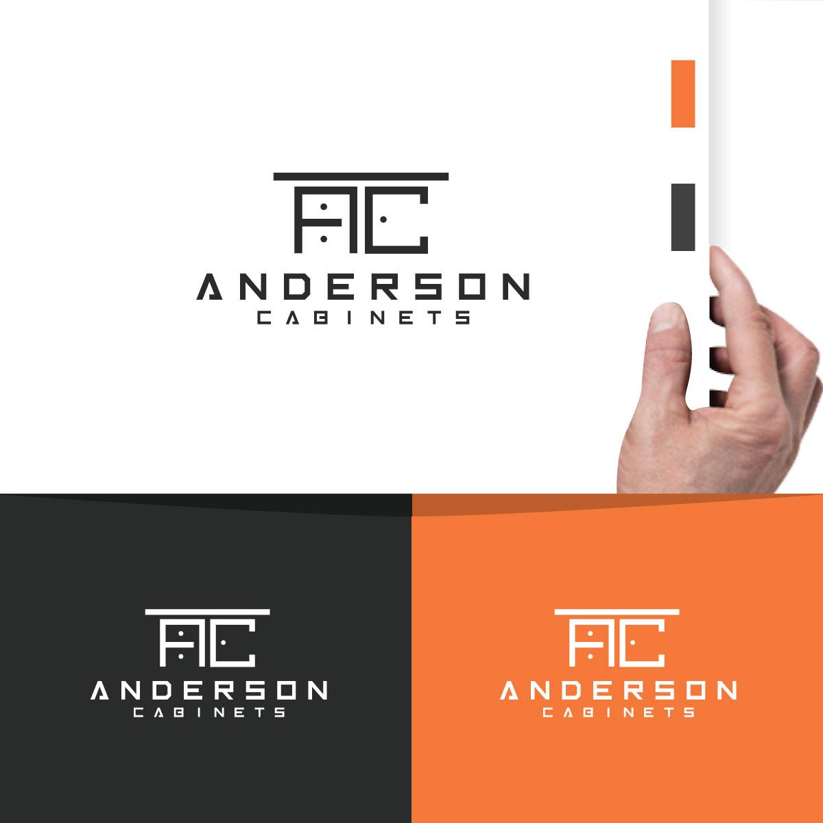 Logo Design By Nibedita.mandal123 For Anderson Cabinets   Design #17049214