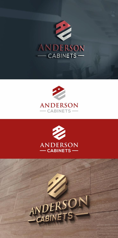 Logo Design By Aqilazhifara For Anderson Cabinets   Design #17056542