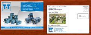 Flyer Design by smart - 4X6 Post Card Mailer / Industrial Motors