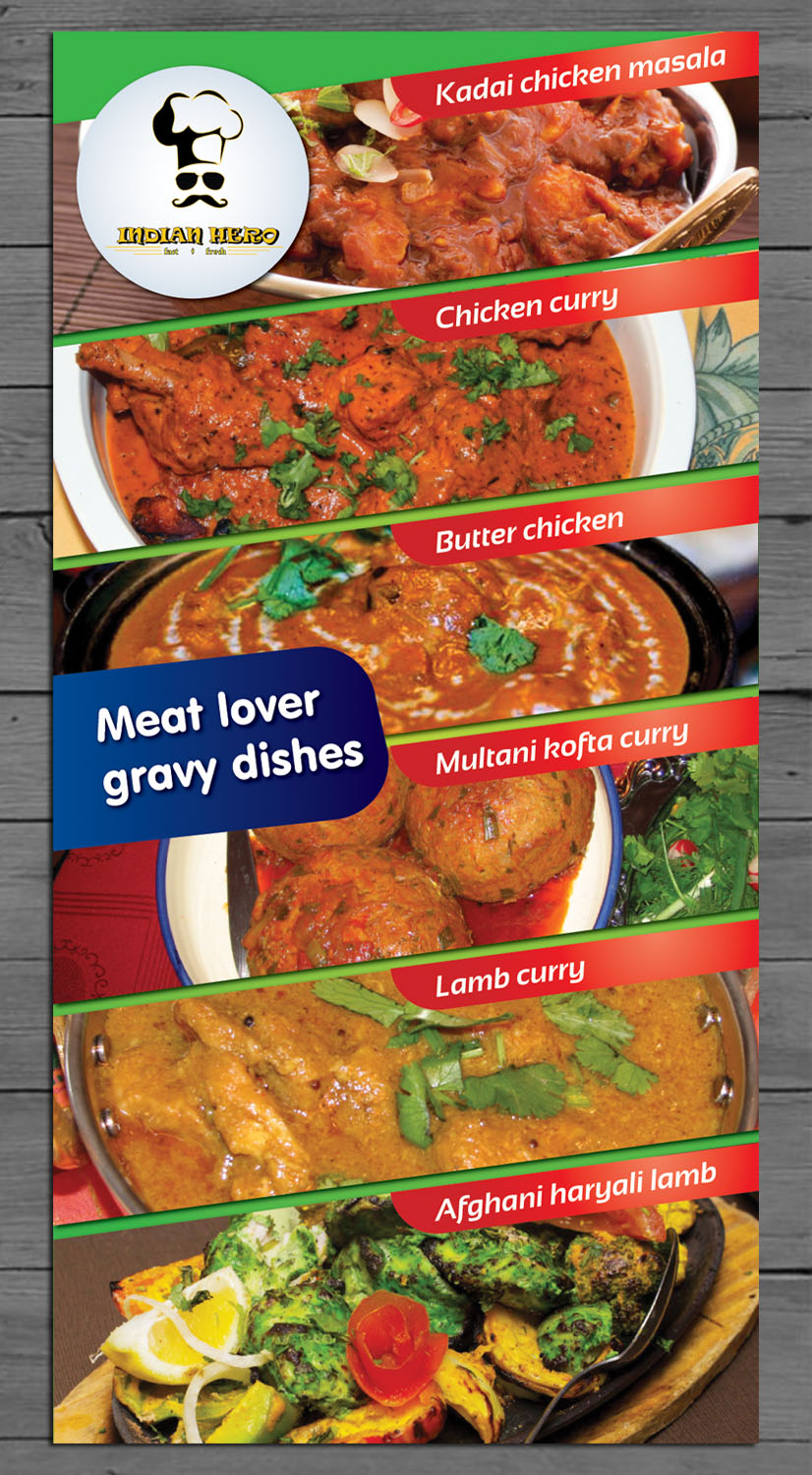 Professional modern poster design for india gate inc by for All about indian cuisine