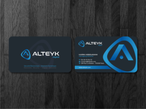 serious modern business card design job business card brief for